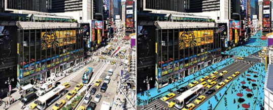 from Times Square to San Marco Square