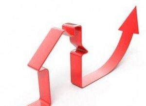 NYC-area home prices UP