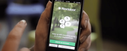 Real Estate Tech: Nextdoor App