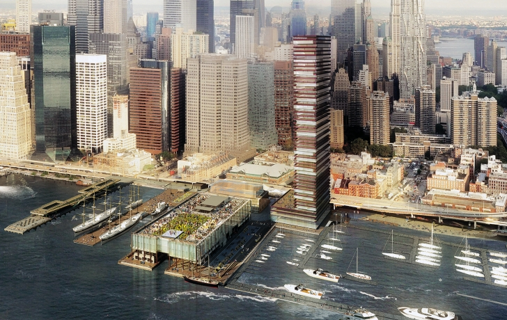 Dallas Water Company >> The South Street Seaport Project - Rava Realty